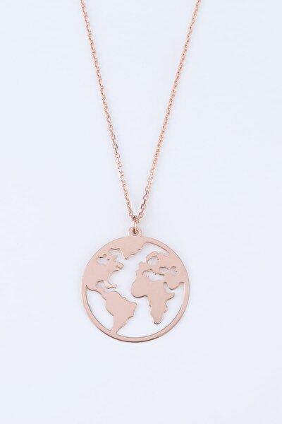 Dünya Gümüş Kolye