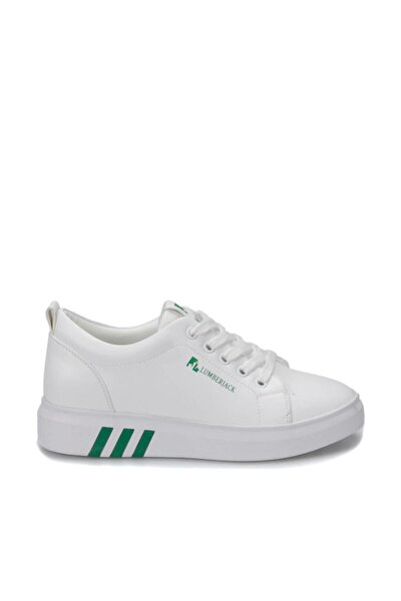 Tina Beyaz Yeşil Kadın Sneaker Ayakkabı 100367303