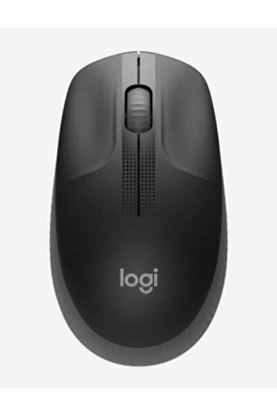 Gri Büyük Boy Kablosuz Mouse Optik 1000 Dpı Buton 910-005905 M190