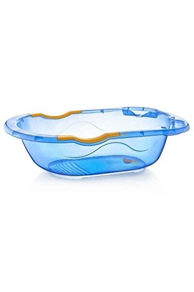 Bebek Banyo Küveti Şeffaf Desenli (Giderli) 031 Mavi