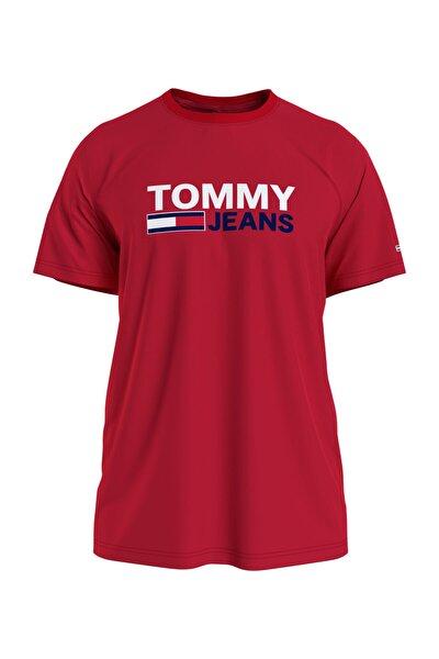 Erkek Kırmızı T-Shirt Tjm Corp Logo Tee DM0DM10214XNL