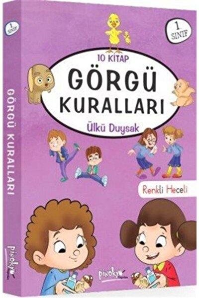 1. Sınıf Görgü Kuralları Serisi 10 Kitap Renkli Heceli