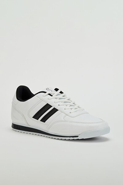 Erkek Beyaz Sneaker Ayakkabı Mgpalermo01