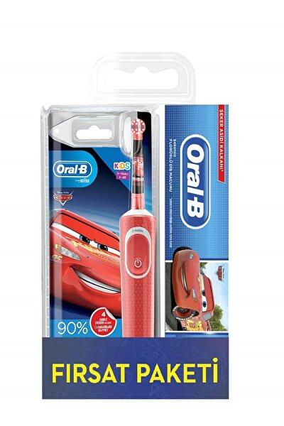 Çocuklar Için Cars Şarjlı Diş Fırçası + Diş Macunu 75 ml