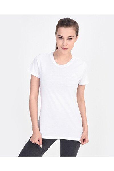 Graphic Tee's W Core Logo Kadın Beyaz Tshirt S201205-100