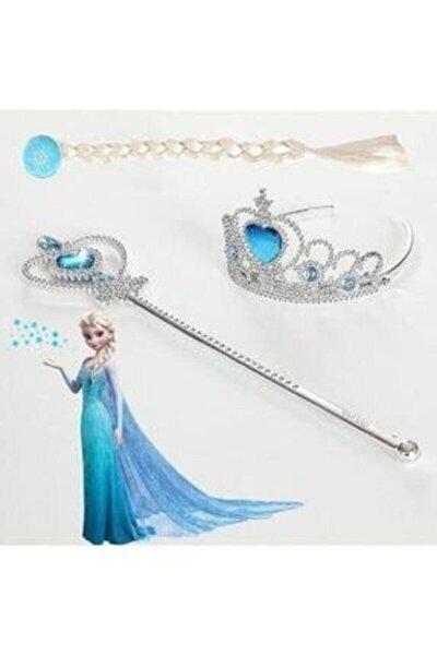 Karlar Kraliçesi Elsa Saçı, Asası ve Tacı Karlar Kraliçesi Aksesuarı