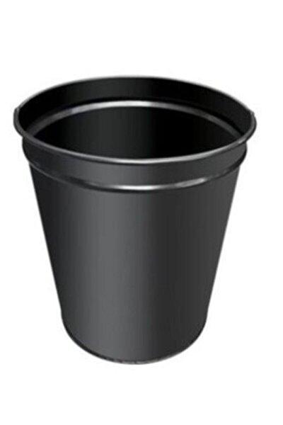 Metal Siyah Masa Altı Çöp Kovası 13 Lt.fx