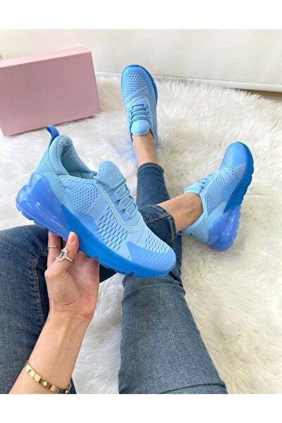 Kadın Mavı Spor Ayakkabı