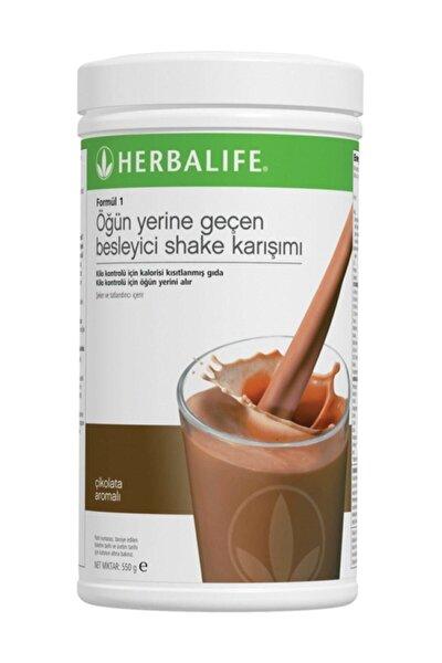 Formül 1 Öğün Yerine Geçen Besleyici Shake Karışımı Çikolata 550 gr.
