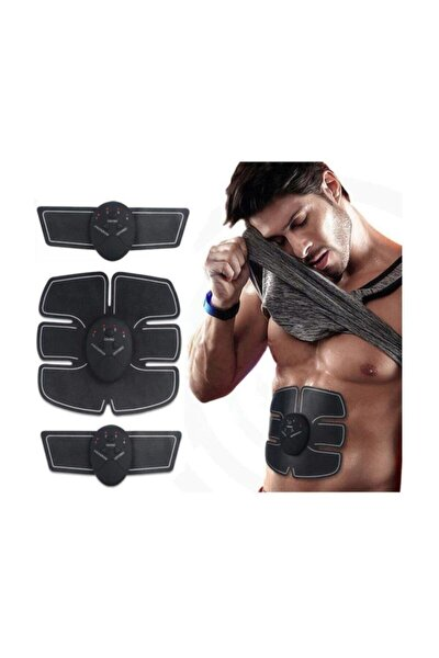 Smart Fitness 3lü Sixpack Abs Vücut Kas Geliştirici Yağ Yakıcı Spor Masaj Aleti