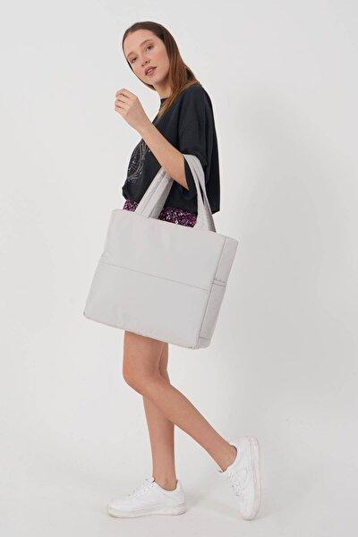 Kadın Gri Askılı Çanta Ç419 - A6 Adx-0000023780