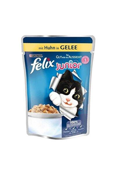 Purina Felix Junior Tavuklu Pouch Yavru Kedi Maması 20 X 100 G