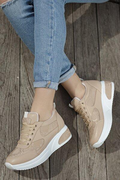 Kadın Günlük Ortopedik Sneaker Ayakkabı D1022