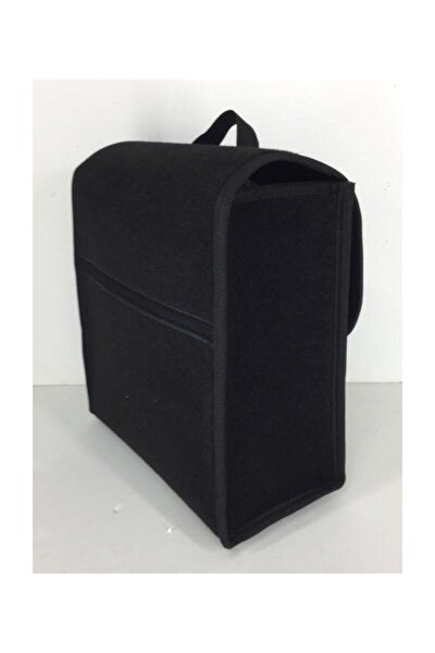 Halı Bagaj Çantası Bagaj Organizer Su Geçirmez Cırtlı Kaydırmaz Siyah Şeritli Mini Çanta