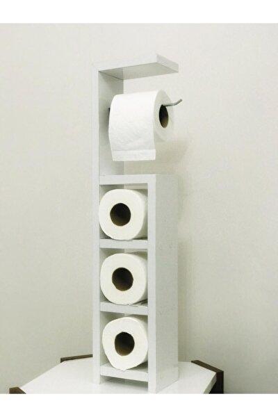 Ahşap Wc Kağıtlık / Tuvalet Kağıtlığı / Dekoratif Banyo