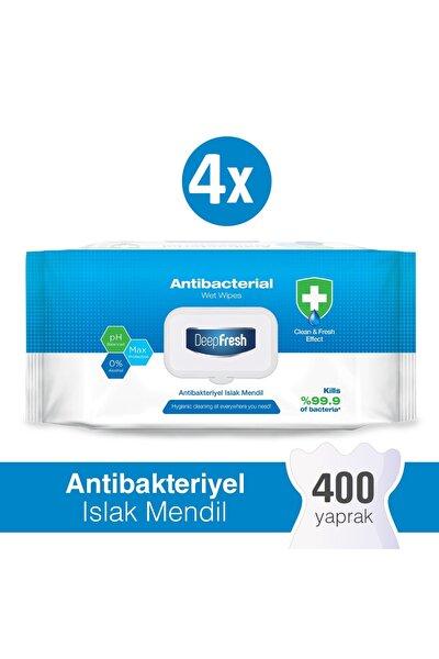Antibakteriyel Islak Mendil 4 X 100 Yaprak