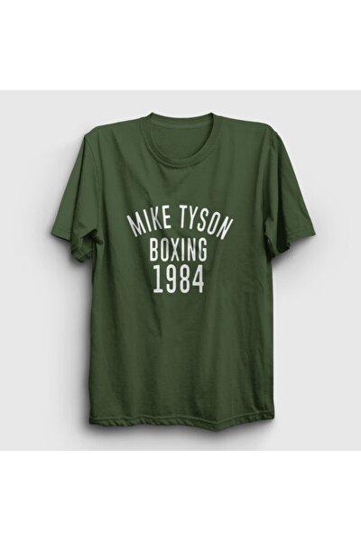 Unisex Haki 1984 Mike Tyson T-shirt 157232tt