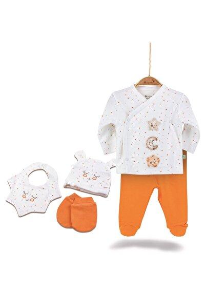 Star Smile Kız Erkek Bebek Hastane Çıkışı 5li Set