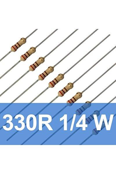 1/4 W 330 R Direnç Paketi - 10 Adet