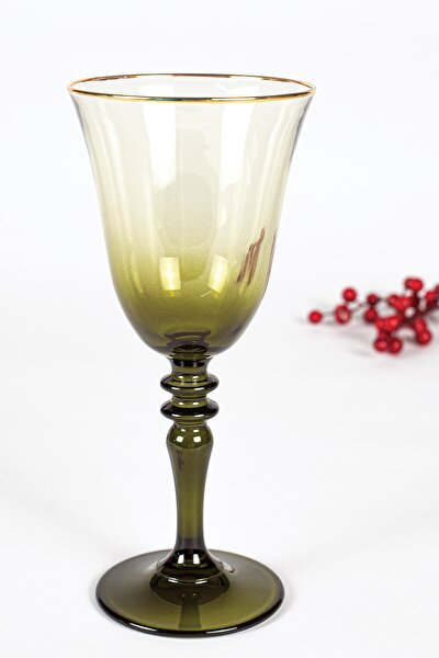 Gold Iconic 3'lü Su Kadehi Seti Yeşil 270 Cc