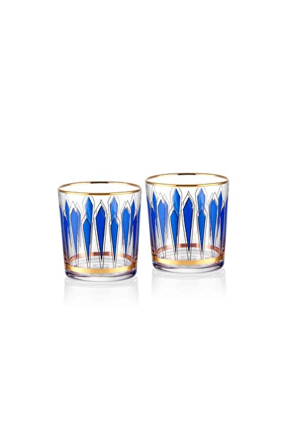 2'li Bardak - Mavi / 380 ml