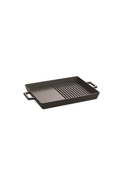 Hibrit Metal Kulplu Izgara Tavası - 26x32 Cm
