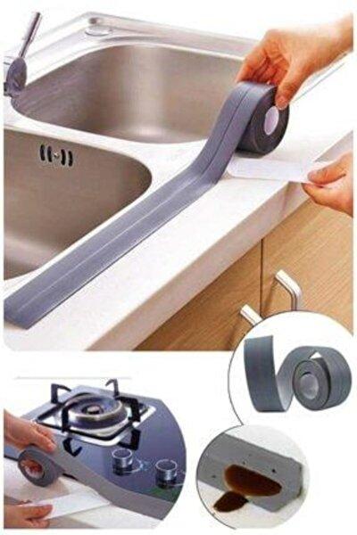 Su Sızdırmaz Banyo Mutfak Kenar Bandı 3.2 Mt Gri
