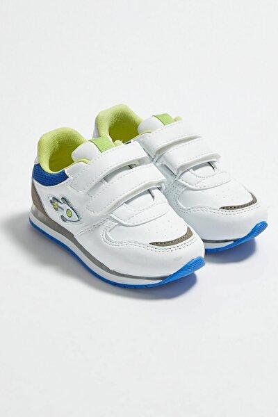 Erkek Çocuk Beyaz J5E Sneaker