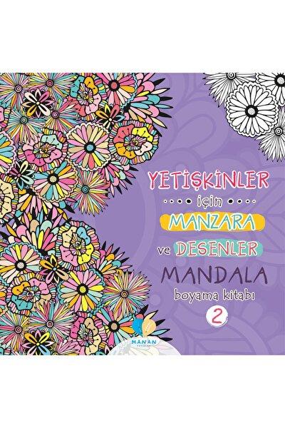 Yetişkinler Için Manzara Ve Desenler Mandala Boyama Kitabı-2