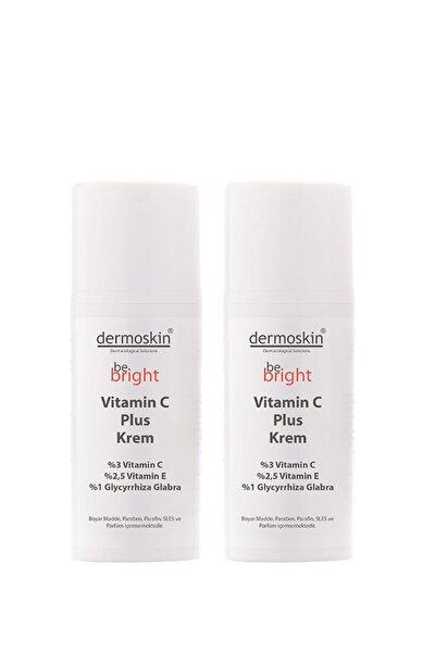 Be Bright Leke Giderici Ve Nemlendirici Vitamin C Plus Krem 33 ml 2'li Avantaj Paket