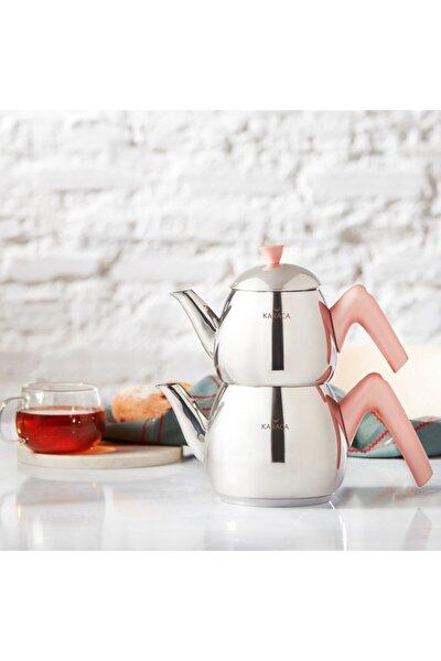 Merkür Small Rose Çaydanlık Takımı