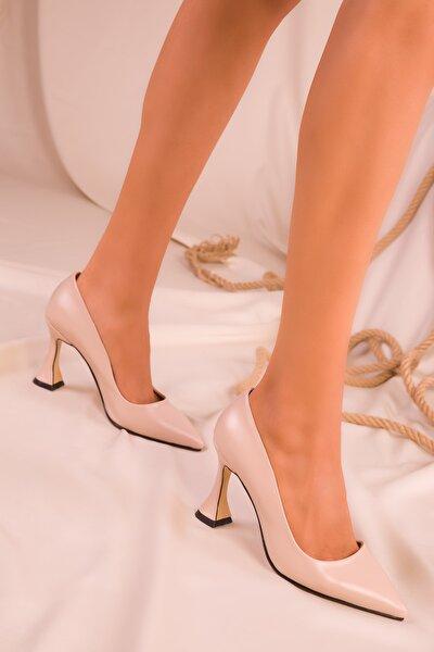 Ten Kadın Klasik Topuklu Ayakkabı 15953