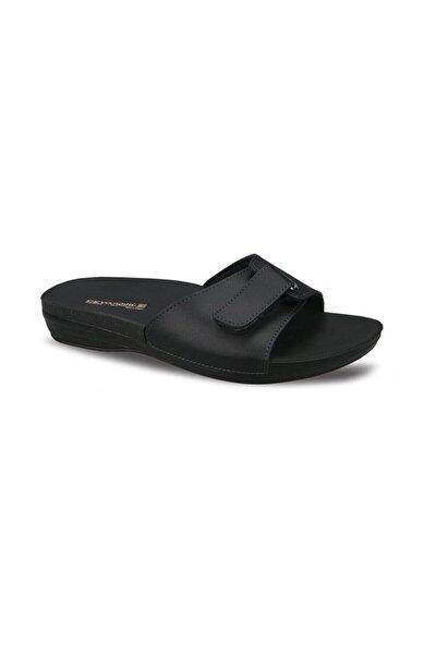 Marina-1 Siyah Ortapedik Bayan Terlik & Sandalet