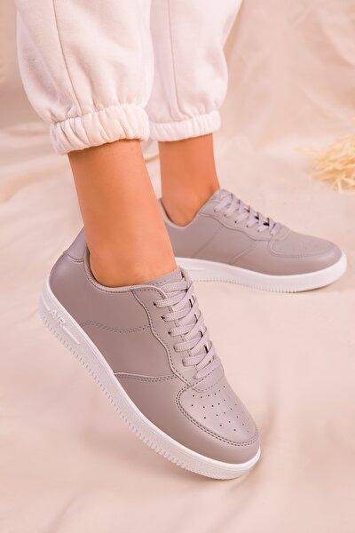 Gri Kadın Sneaker 14361