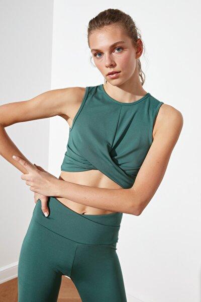 Yeşil Önü Çapraz Bluz TWOSS21BZ0994