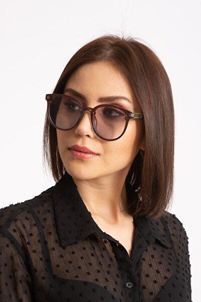Kadın Güneş Gözlüğü Deluxe Kemik