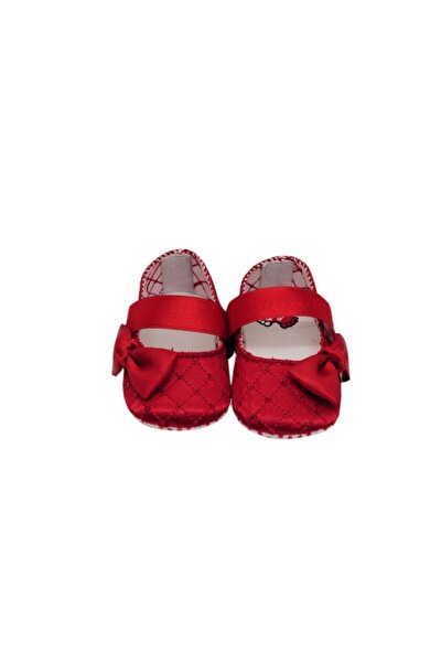 Bebek Kırmızı Patik Babet