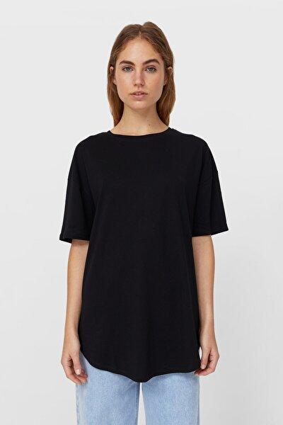 Kadın 2'Li Uzun T-Shirt Paketi 02509940