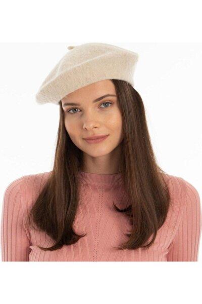 Kadın Bej Fransız Ressam Bere Şapka