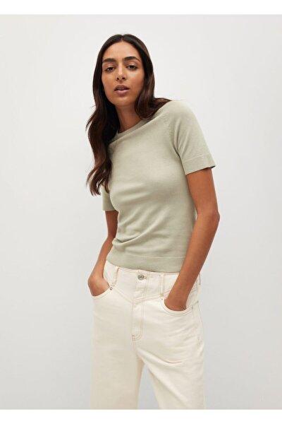 Kadın Yeşil Bluz --