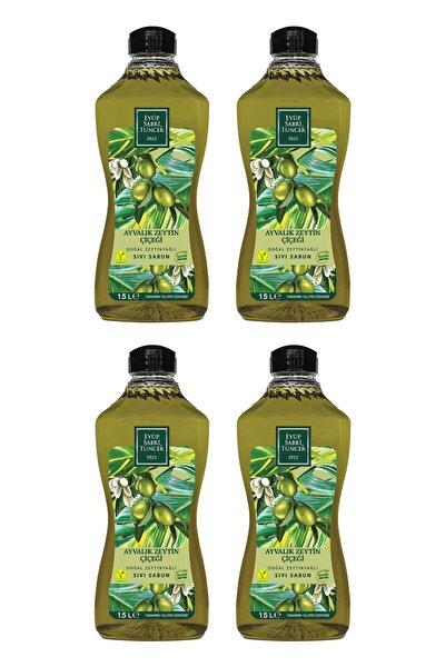 Ayvalık Zeytin Çiçeği Doğal Zeytinyağlı Sıvı Sabun 1,5 Lt X 4 Adet