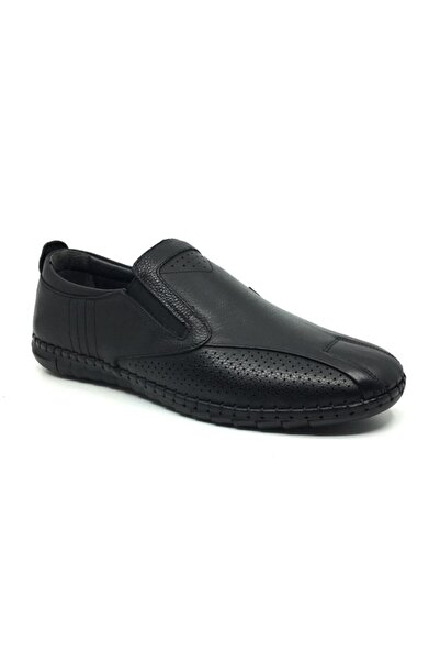 %100 Deri Ortopedik Yazlık Erkek Günlük Çarık Ayakkabı 38-47