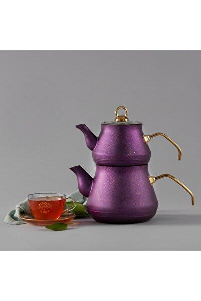Bio Granit Çaydanlık Takımı Mor
