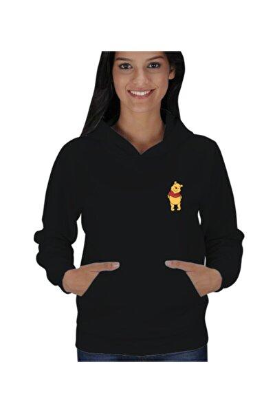 Winnie The Pooh Kadın Kapşonlu