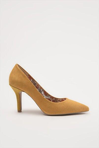 Sari  Klasik Topuklu Ayakkabı 01AYH213540A520