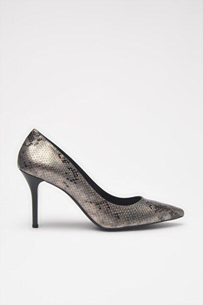 Antrasit  Klasik Topuklu Ayakkabı 01AYH213550A250