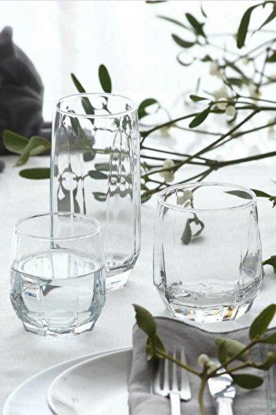 Diamond Meşrubat Bardağı Seti 18'li