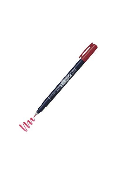 Fudenosuke Brush Pen Fırça Uçlu Kalem 25 Red