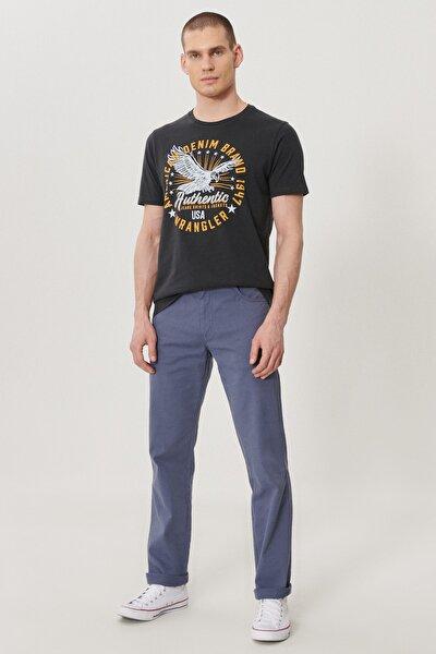 Arizona Erkek İndigo Straight Fit Normal Bel Düz Paça Esnek Pantolon