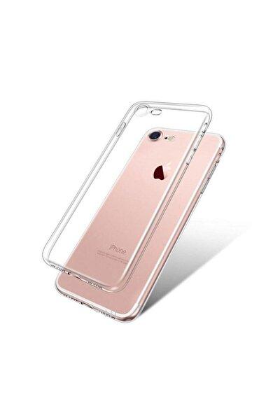 Apple Iphone 8 Kılıf Tam Şeffaf Silikon Transparan